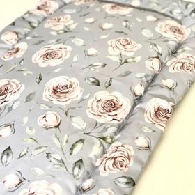 tapis de change roses