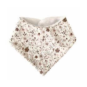 bavoir bandana petites fleurs