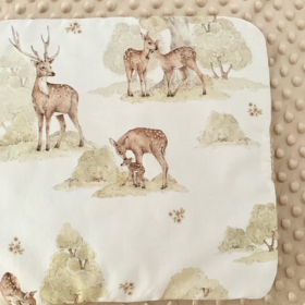 coussin plat oh deer