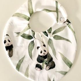 bavoir panda - modèle...