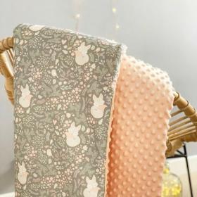 couverture renard gris