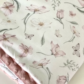 couverture pastel flower