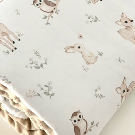 couverture soft biche