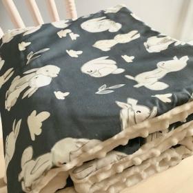 couverture petits lapins