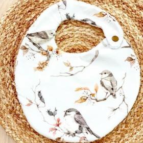 bavoir oiseaux sur les...