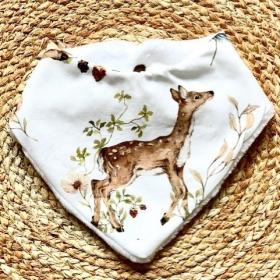 bavoir bandana bambi