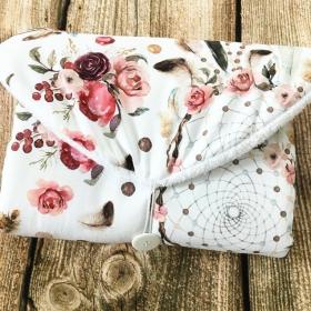 Tapis reves fleurs blanc