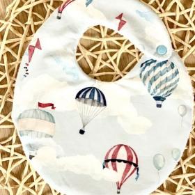 bavoir montgolfiere