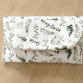 Pochette herbes blanc