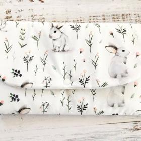 Pochette lapin blanc