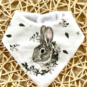 bavoir bandana rabbit