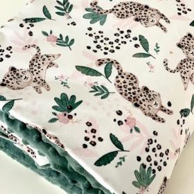 couverture happy leopard