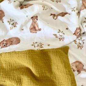 couverture d'été petit ours...