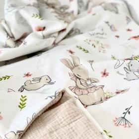 couverture d'été oh my bunny