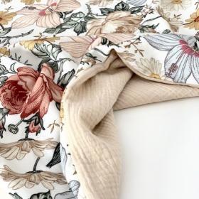 couverture d'été fleur vintage