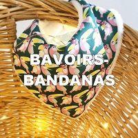 Bavoirs-bandanas