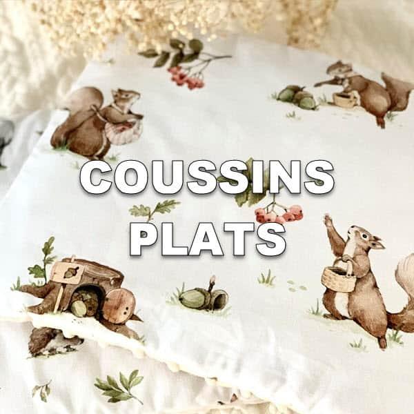 Coussins plats