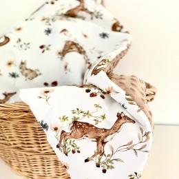 Une Petite question !!! Est-ce que ça peut vous intéresser les couvertures où d'autres accessoires avec ce genre de tissu ? Motif biche, lapin, type animaux de la forêt...j'ai envie de faire mon propre motif et je ne veux pas me tromper 😊 • • • • #couverturebebe #babyblanket #pourbebe #accesoiresbebe #futuremaman #9mois #pourbebe #pregnant #babyblanket #decochambrebebe #naissance #futuremaman #mybaby #love #babylove #