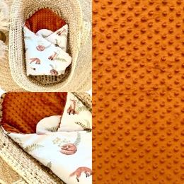 Gigoteuse d'emmailotage «Mr Fox» en ligne. • • • #gigoteuse #minky #baby #pourbebe #accessoirebebe #babyshower #ocre #9mois #futuremaman #babylook #enceinte #pregnant #fox #renard