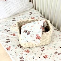 Coucou! La couverture «happy forest» est en ligne, je vous la propose avec minky blanc cassé ou une nouvelle couleur strawberry ice , glissez pour voir la deuxième photo !! J'espère qu'elle vous plaira 🧡🧡 • • • #couverturebebe #babyblanket #pourbebe #accessoirebebe #enceinte #femmeenceinte #futuremaman #babyroom #babyshower #cadeaudenaissance #listedenaissance #decochambrebebe #faitmain #homemade #pregnant #maternité
