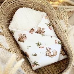Et voilà vos écureuils 🐿 préférés se sont transformés en gigote une emmaillotage qui a la cote en ce moment !!!!  🌰  🌰 🌰 #gigoteuse #ecureuil #tissu #accessoirebebe #babyshower #listedenaissance #baby #pourbebe #minky #mumtobe